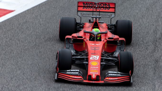 F1 in-season test 2019 Sakhir: Mick Schumacher sulla Ferrari SF90