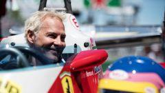 F1, Jacques Villeneuve al volante della mitica Ferrari di papà Gilles