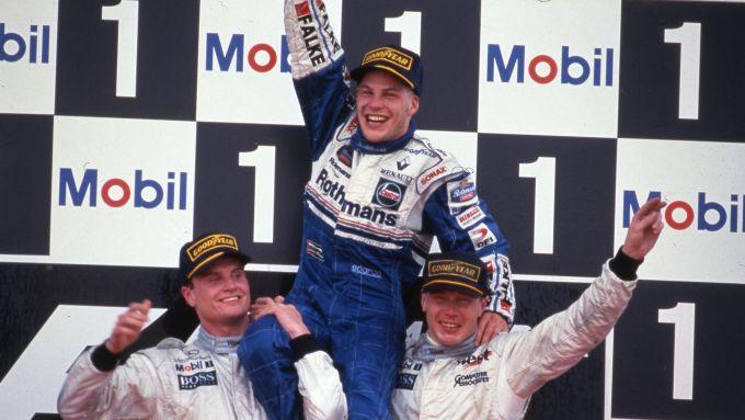F1, Jacques Villeneuve vince il mondiale di Formula 1 1997