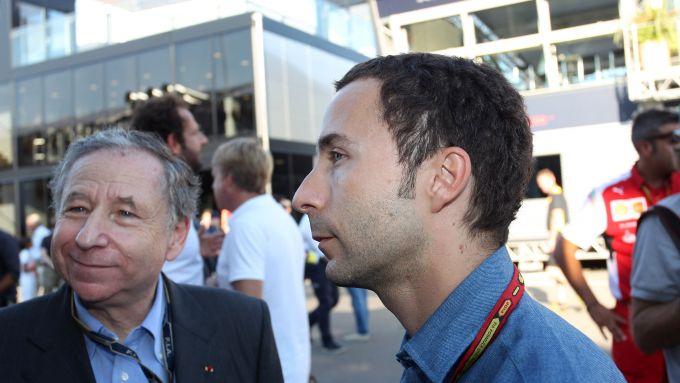 F1: Jean Todt con il figlio Nicolas