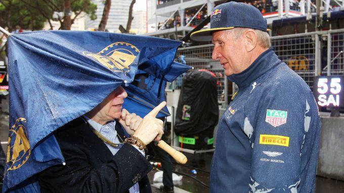F1: Jean Todt (FIA) ed Helmut Marko (Red Bull)