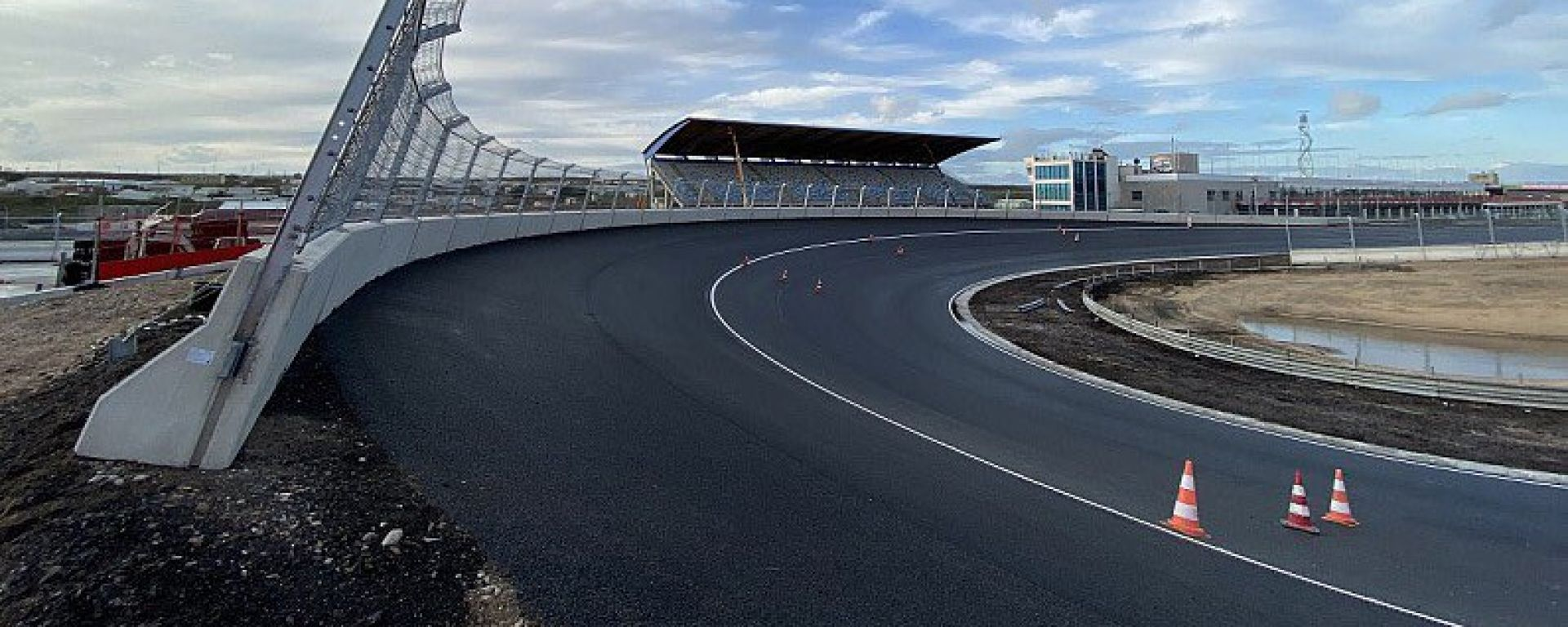 F1: la curva 14 del circuito di Zandvoort, sede del GP Olanda