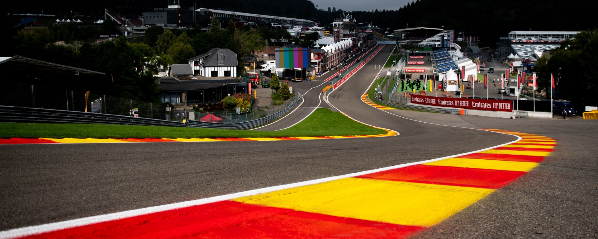 F1, la mitica curva di Eau Rouge protagonista del Gp del Belgio