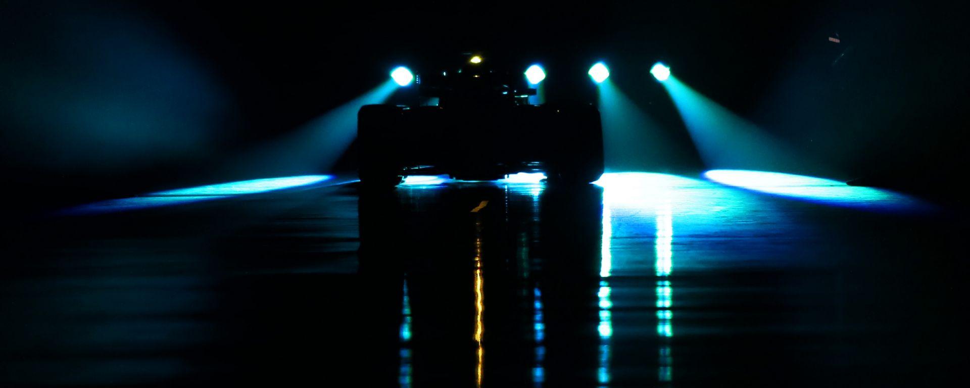 F1: la presentazione della Mercedes W09, nel 2018