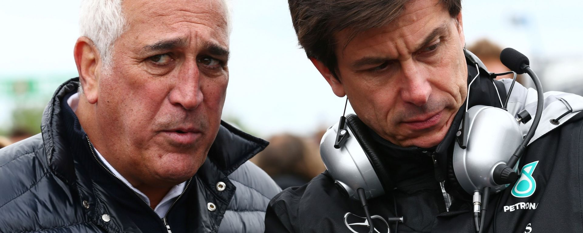 F1: Lawrence Stroll e Toto Wolff