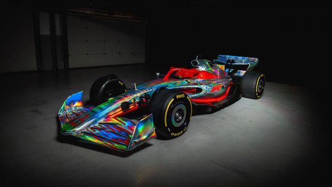 F1, le immagini in studio del concept della monoposto F1 2022