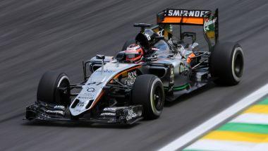 F1, le monoposto più belle del decennio: posizione #3, la Force India VJM08 del 2015