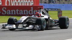 F1, le monoposto più brutte del decennio: bonus track, la Mercedes MGP W01 del 2010