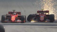 Leclerc-Vettel e tutti gli incidenti tra compagni di team - Immagine: 13