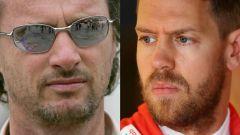 """F1: l'ex Ferrari Irvine smonta Vettel: """" E' sopravvalutato"""""""