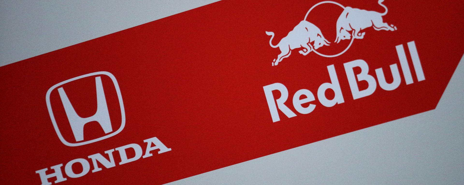 F1, loghi Honda e Red Bull