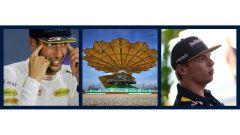 F1 Malaysian GP - Verstappen e Ricciardo