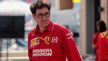 F1, Mattia Binotto (Scuderia Ferrari)