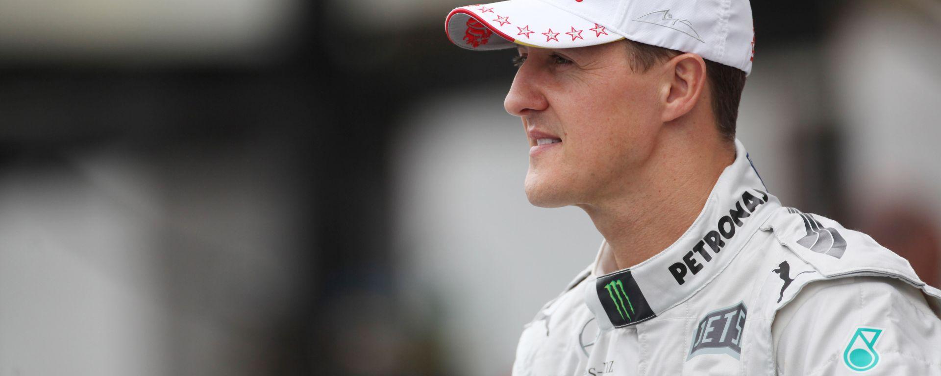 F1, Michael Schumacher alla festa di addio alla Mercedes nel 2013