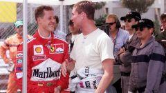 F1: Michael Schumacher (Ferrari) e David Coulthard (McLaren)