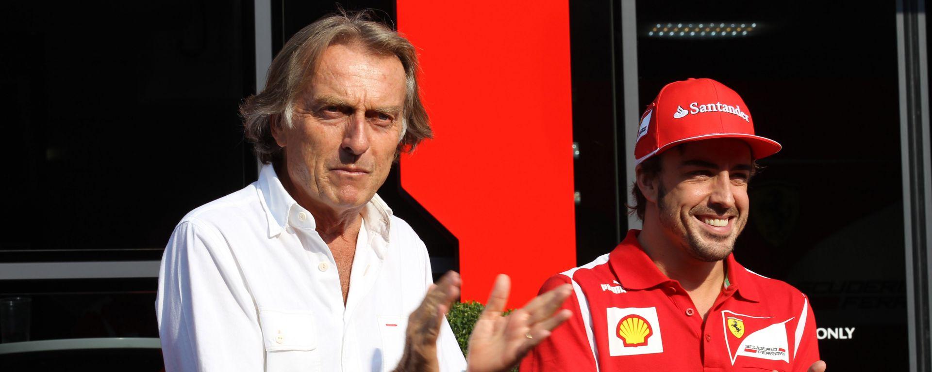 F1, Montezemolo duro su Alonso? L'ex pilota Ferrari smentisce