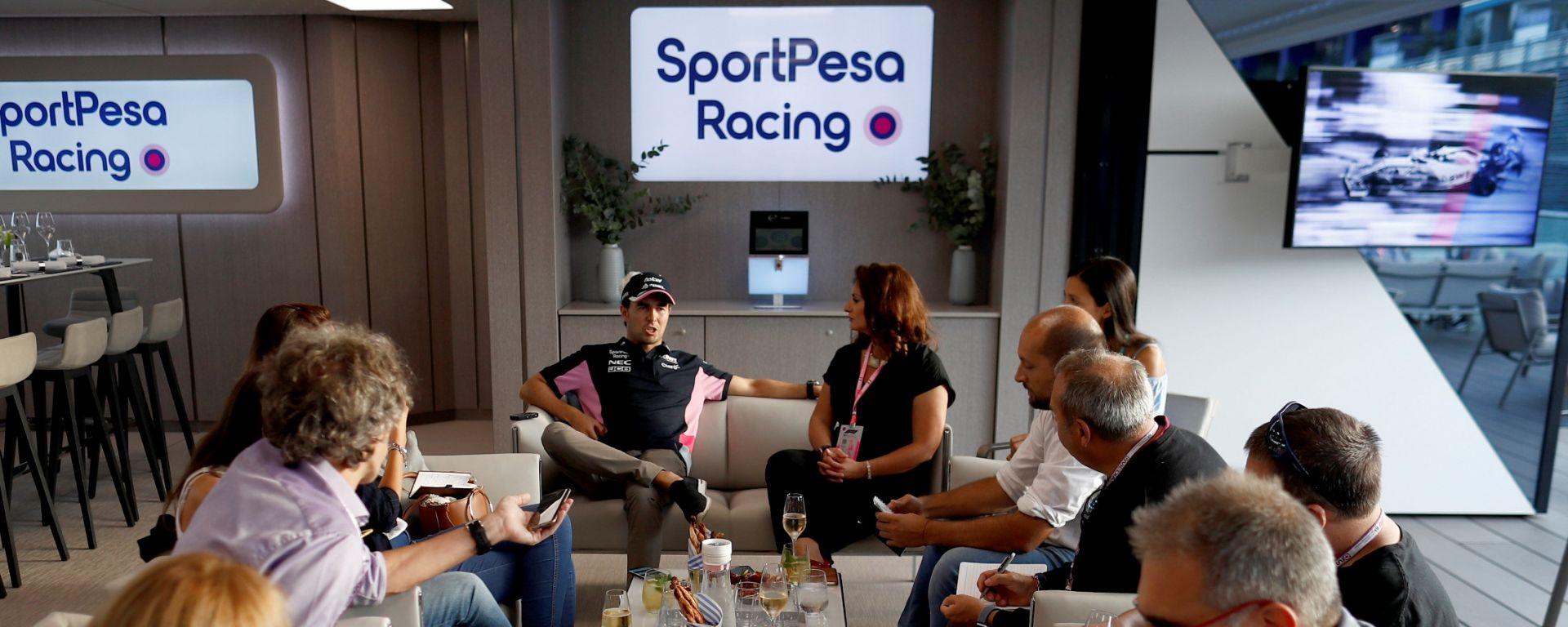 F1 Monza: un pomeriggio in SportPesa Racing Point