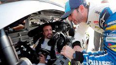 Fernando Alonso e Jimmie Johnson si sono scambiati l'auto per un giorno - Immagine: 4