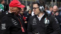 """Wolff: """"Il 2019 resterà l'anno in cui abbiamo perso Lauda"""""""