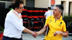 F1: Nikolas Tombazis con Nick Chester, direttore tecnico Renault