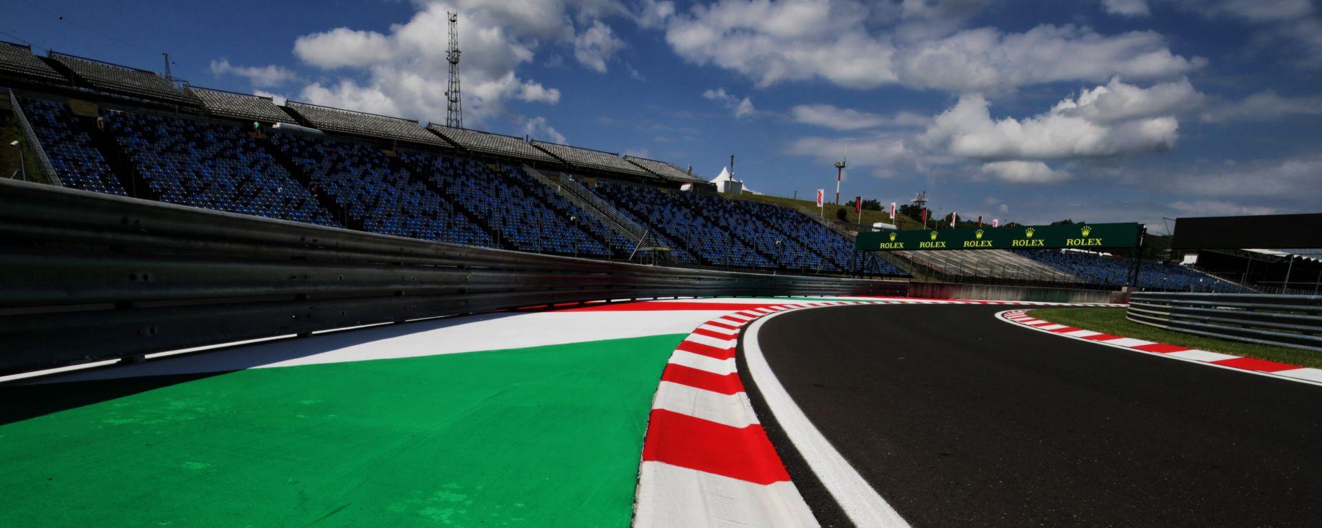 F1: particolare dell'Hungaroring, circuito sede del GP Ungheria