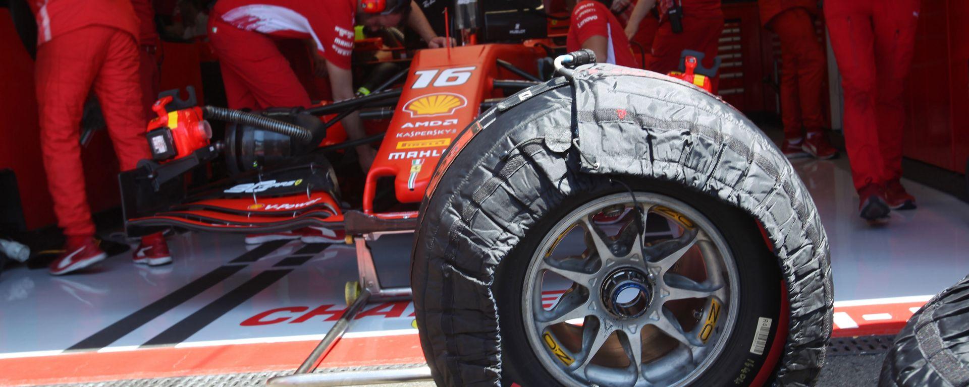 F1 Pirelli: annunciate le mescole per Belgio e Giappone