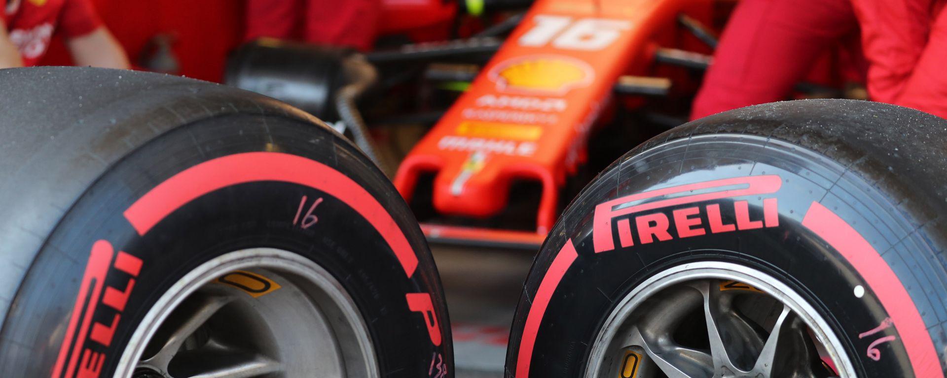F1 Pirelli, ecco le mescole per il GP di Russia 2019