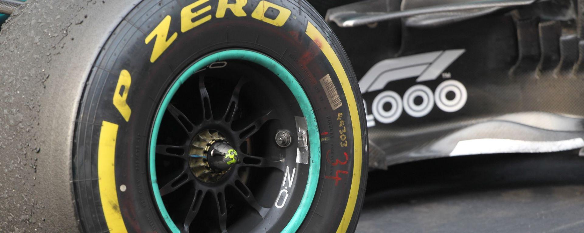 F1 Pirelli, le mescole per Baku: i compagni di team si copiano