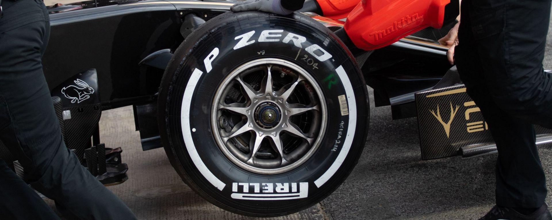 F1 Pirelli: scelte le mescole per Le Castellet