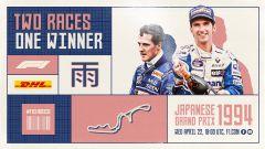 Schumacher contro Hill, su YouTube il Gp Giappone 1994