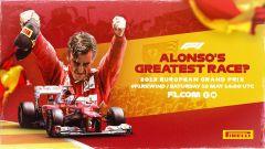 F1 Rewind, la locandina del GP Valencia 2012 su YouTube