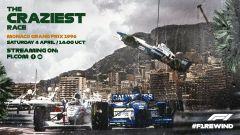 F1 Rewind Monaco '96, la locandina del quarto appuntamento con le repliche integrali delle gare più belle