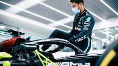 La Mercedes mantiene la parola: Grosjean in pista al GP Francia