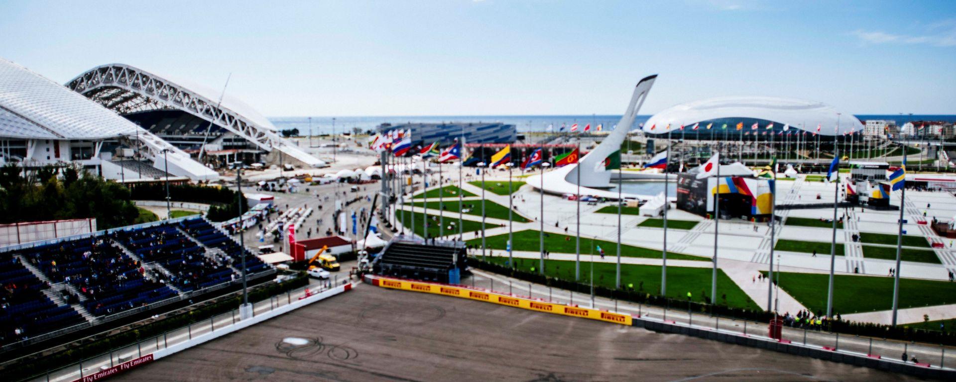 F1 GP Russia - Orari TV e TimeTable