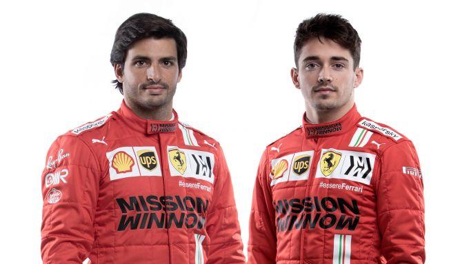 F1, Scuderia Ferrari 2021: Carlos Sainz e Charles Leclerc