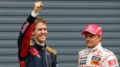F1, Sebastian Vettel e Heikki Kovalainen