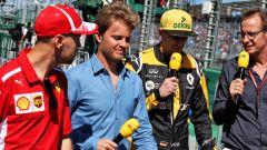 Vettel e Rosberg in disaccordo sul motore del futuro