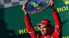 F1, Sebastian Vettel è uno dei piloti saliti sul podio di Melbourne. In carriera c'è riuscito 7 volte!