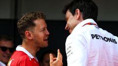 Wolff non esclude un interessamento Mercedes per Vettel