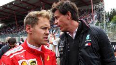 """Wolff: """"Vettel in Mercedes una bella storia di marketing"""""""