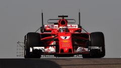 F1 Test Abu Dhabi 2017, Kimi Raikkonen in azione