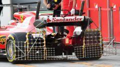 F1 Test Abu Dhabi 2017, la Ferrari di Kimi Raikkonen