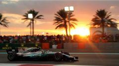 F1, Test Abu Dhabi 2017, Lewis Hamilton