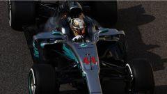 F1 Test Abu Dhabi 2017, Lewis Hamilton