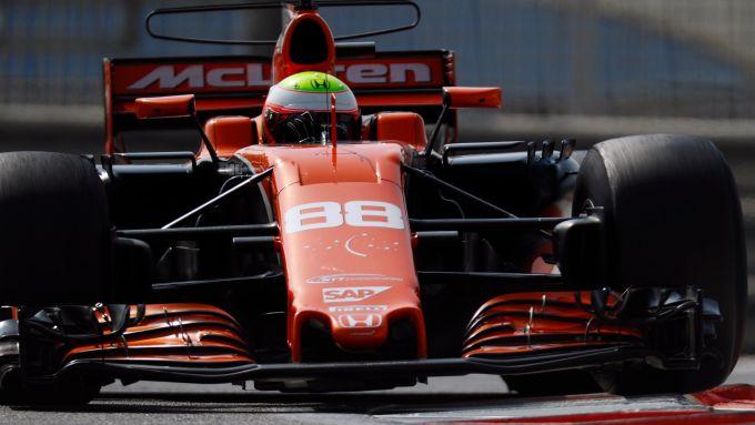 F1 Test Abu Dhabi 2017, Oliver Turvey