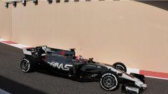 F1 Test Abu Dhabi 2017, Romain Grosjean sulla HAAS VF-17