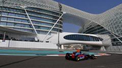 F1 Test Abu Dhabi 2017, Sean Gelael sulla Toro Rosso STR12