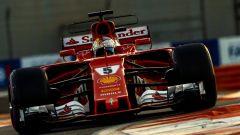 F1, Test Abu Dhabi 2017, Sebastian Vettel