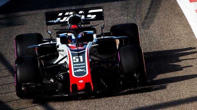 F1 Test Abu Dhabi 2018, Yas Marina: Pietro Fittipaldi (Haas)
