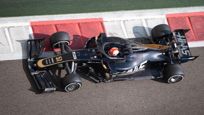 F1 Test Abu Dhabi 2019, Yas Marina: Pietro Fittipaldi (Haas)